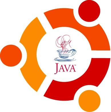 Ubuntu and Java logos
