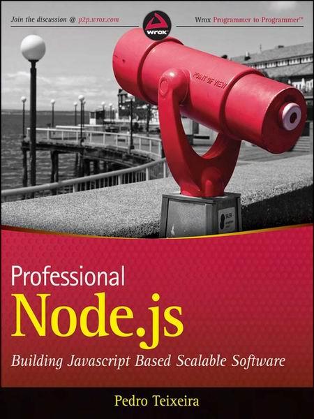 Professional Node.js book cover